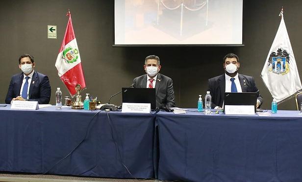 Congreso realiza sesión descentralizada virtual en Trujillo