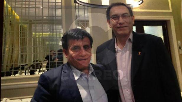 Martín Vizcarra sí se reunió con Antonio Camayo investigado por caso Los Cuellos Blancos