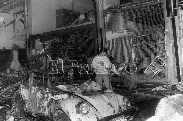 Hoy se cumplen 28 años del atentado terrorista de la calle Tarata