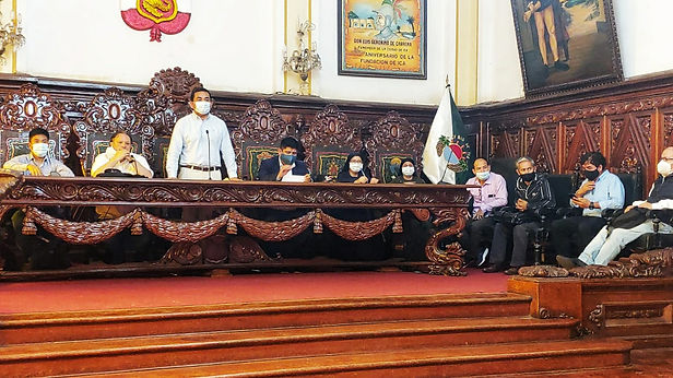 Comisión multipartidaria para nueva Ley General de Régimen Agrario visitó Ica