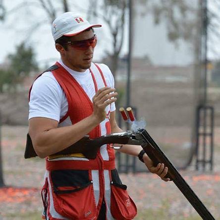 Nicolás Pacheco: el tirador que ama al fútbol y sueña con la medalla olímpica