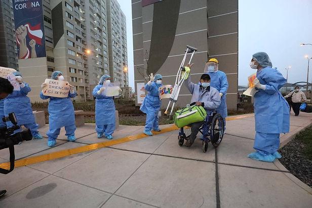 Perú supera los 200 mil pacientes dados de alta tras vencer al COVID-19