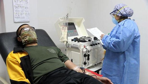 Pacientes tratados con plasmaféresis venció al Covid-19 en Junín