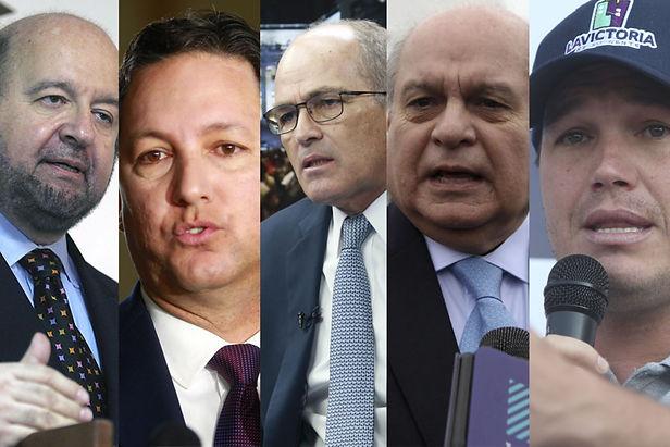 Estos son los empresarios y políticos que se inscribieron en partidos para las próximas elecciones