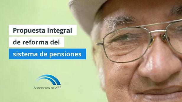 Las AFP proponen pensión para todos en base a tres pilares