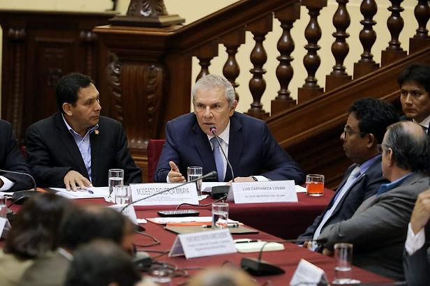 Luis Castañeda Lossio exalcalde de Lima fue internado en el hospital Edgardo Rebagliati