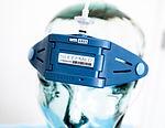 Sleep apnea headset
