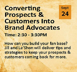 Converting Prospects & Customers Into Brand Advocates