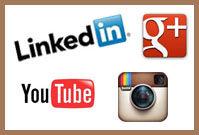 Engage on LinkedIn, YouTube or Instagram