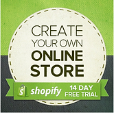 Create your own online store with Shopify and get 2 weeks free!