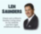 Check out LaShon's story on Len Saunder's website