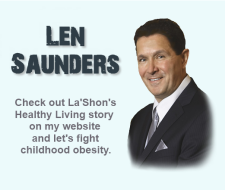 Check out LaShon's story on Len Saunder's website