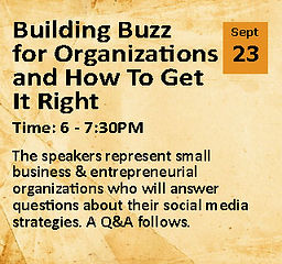 Building Buzz for Organizations and How To Get It Right