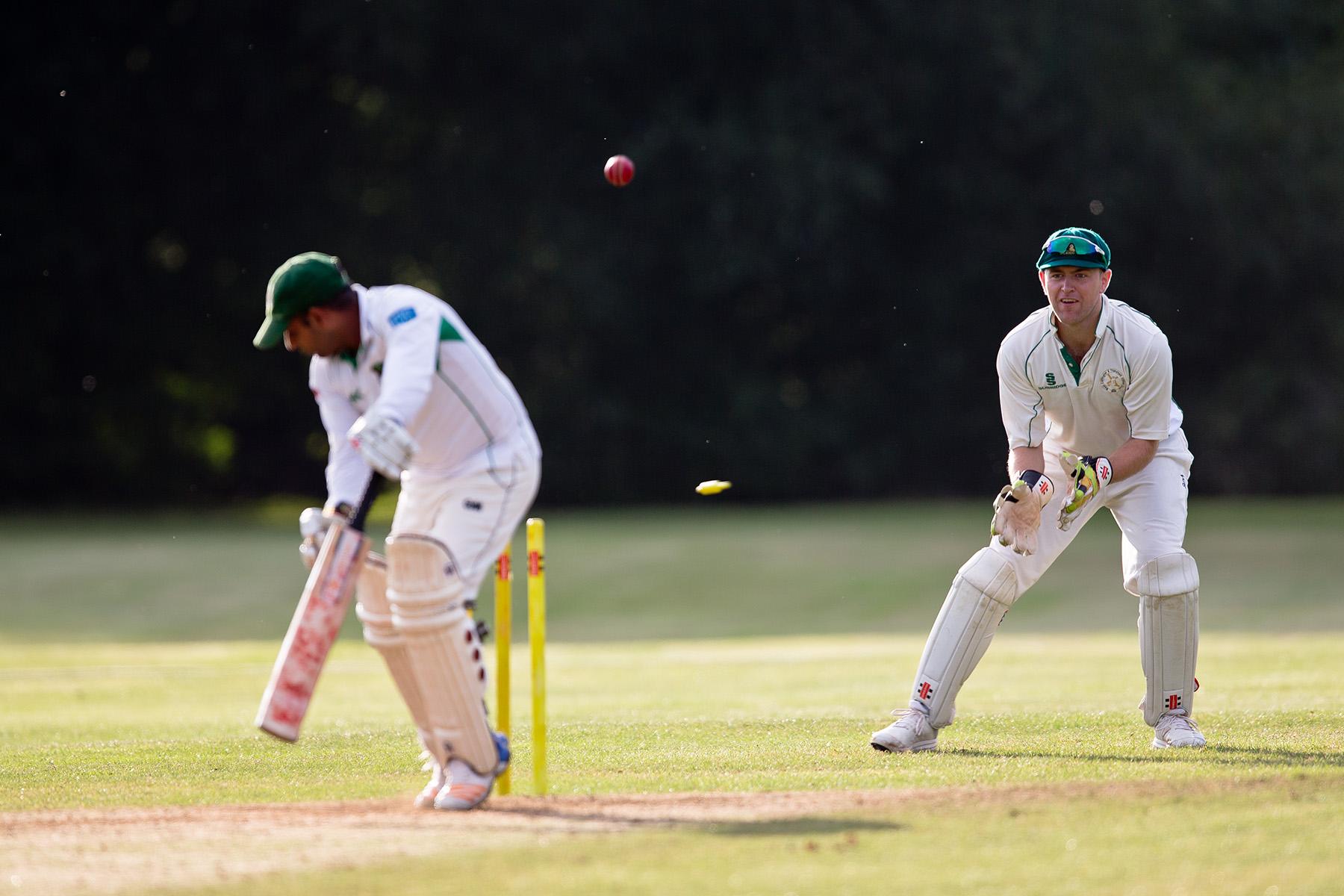 Matt Goring wicket