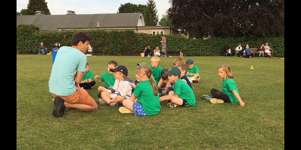 Junior Outdoor Coaching Begins