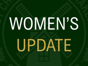 Women's Indoor Sessions Cancelled