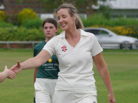 Women victorious over Burgess Hill