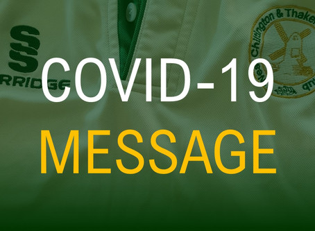 An Important Covid-19 Message