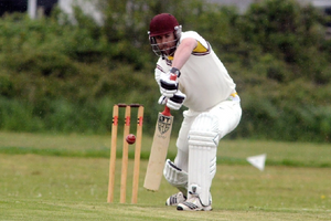 Ed White batting for Aldwick