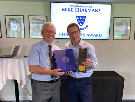 Mike Honoured at Sussex Awards