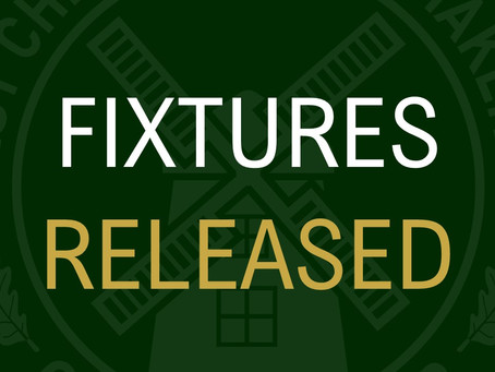 League Fixtures Are Out!