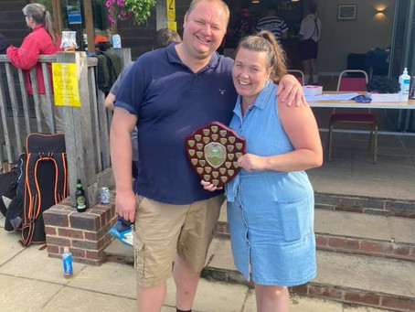 Club Persons of the Year - Dan and Raylene Barnes!