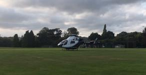 Air Ambulance at Chilt