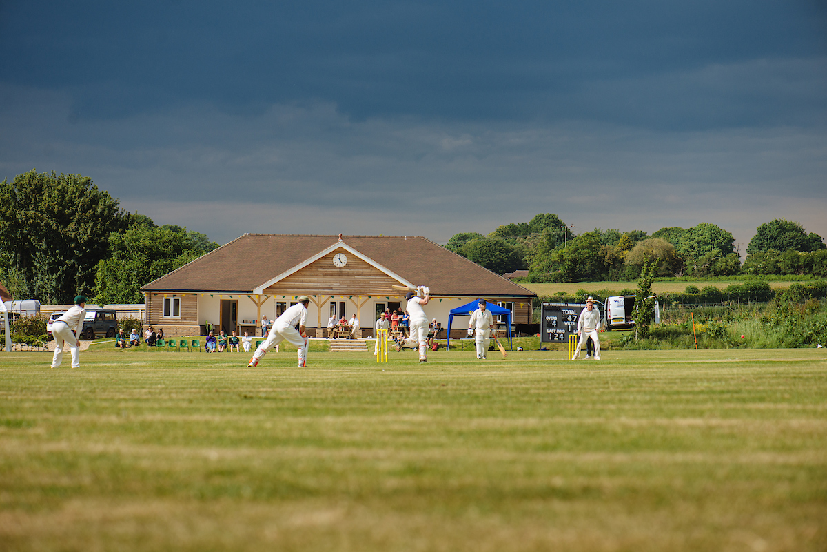 A game at Abingworth Meadows ground