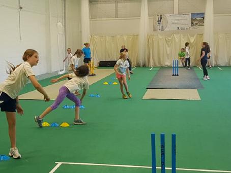 Free Girls Cricket Coaching