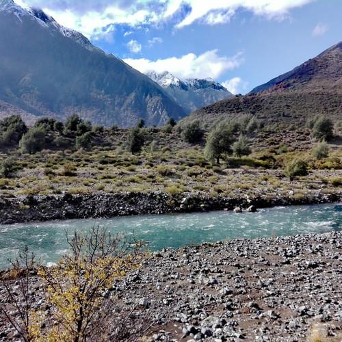 Río cordillenado VII Región
