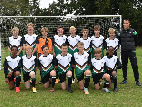 Terra Nova School's teams delighted to kick off with first competitive football and hockey matches