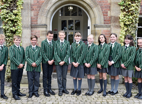 Pupil leadership positions & scholarship achievement inspire younger pupils.