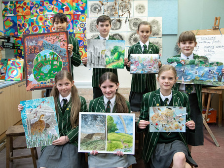Shrewsbury School Art Competition Finalists