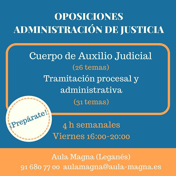 Oposiciones Administración