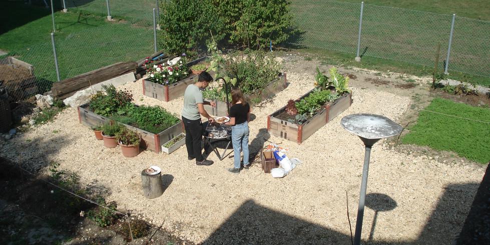 Unser neu angelegter Garten