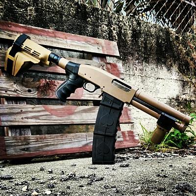 Shotgunworld com • Arm brace legal on Mossberg Shockwave?