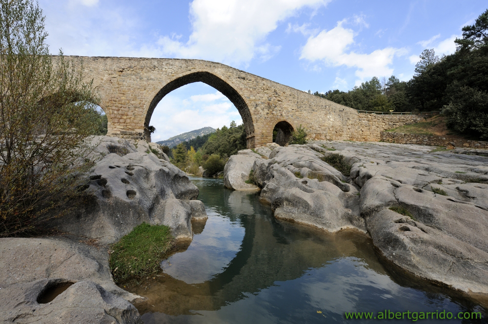 Roman Bridge the Pedret