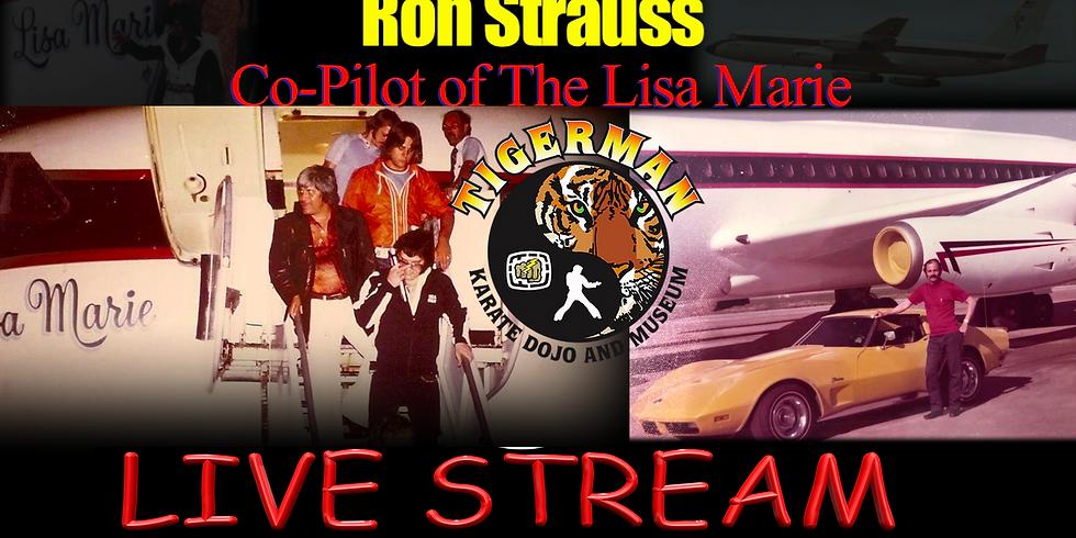 Ron Strauss Lisa Marie Copilot LiveStream