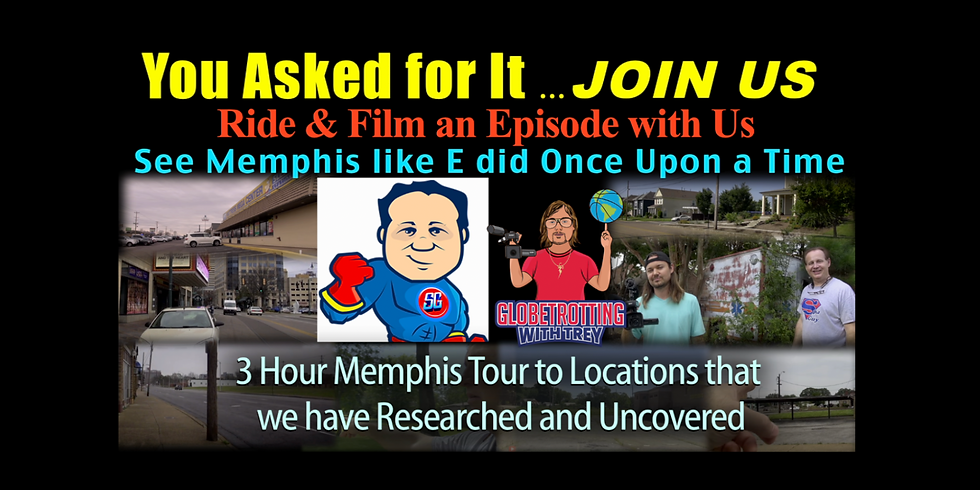 Spa Guy & Trey 3 Hour E Youtube Locations Tour (August 16th) Tour # 2