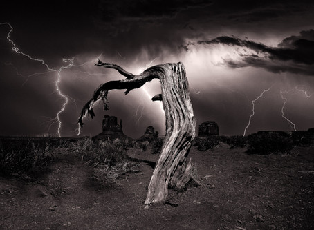 I took over 80 PHOTOGRAPHS in a raging thunderstorm to get this shot... here's how it was done!