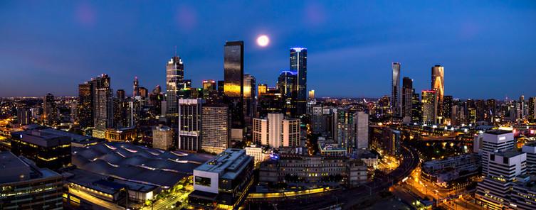 Melbourne Moonrise