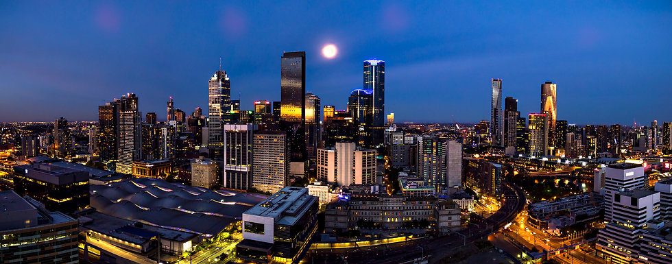 Melbourne Moonrise
