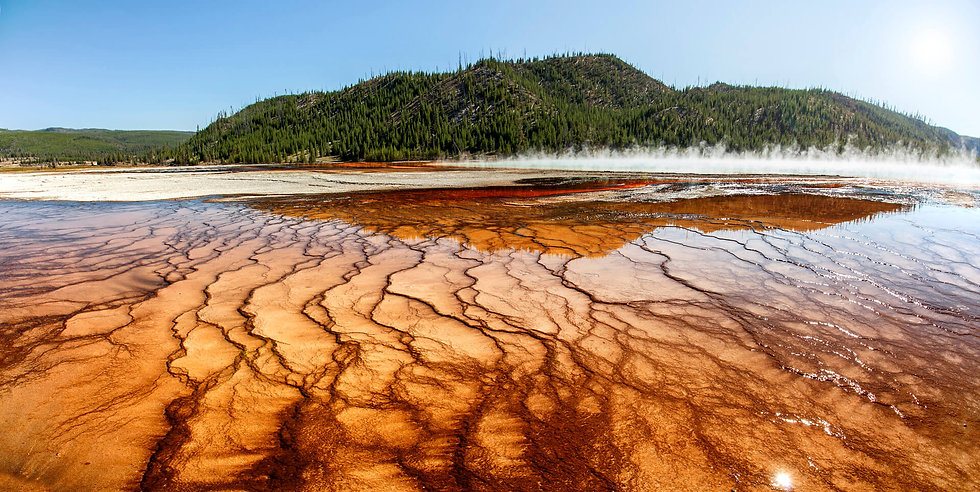The Grand Prismatic Spring - LIMITED EDITION