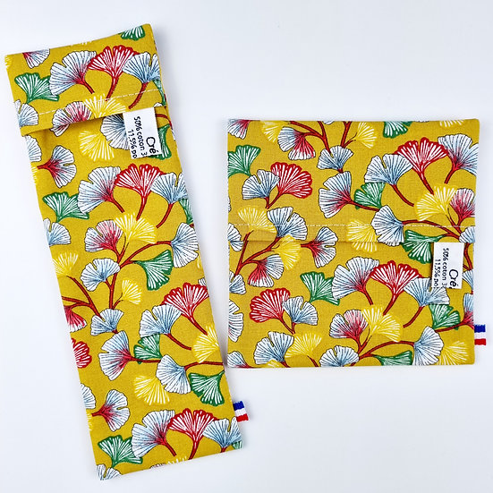 Pochettes imperméables Ginkgo Curry