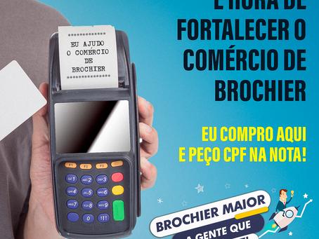 Participe do Nota Fiscal Gaúcha de Brochier