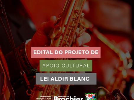 Apoio Cultural Lei Aldir Blanc - Acesso ao edital