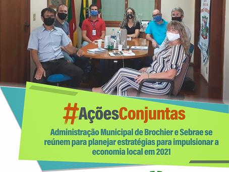 Administração Municipal e Sebrae se reúnem para planejar estratégias e impulsionar a economia local