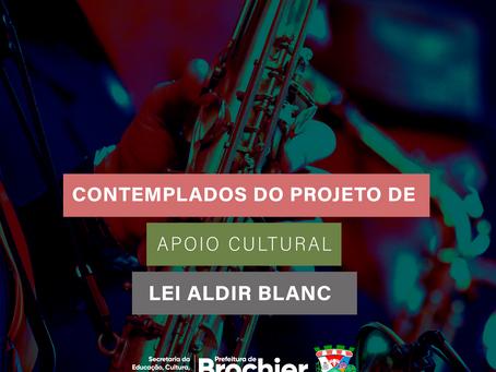 Prefeitura divulga lista de contemplados no edital da Lei Aldir Blanc