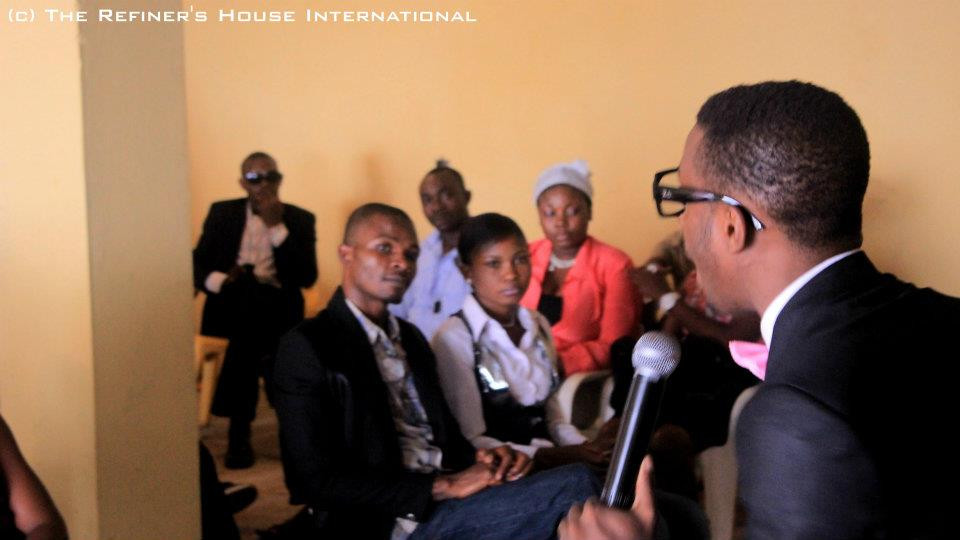 "Joseph ""Jay Ikwan"" Ejim  teaching at an event of The Refiner's House International"