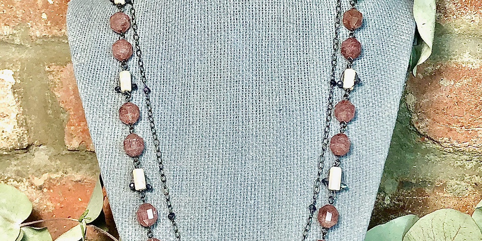 Free Class: Art Deco and Pearl Necklace